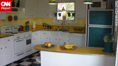 Janel Nixon is a self-proclaimed nerd who loves DIY design. She and her husband renovated their kitchen for under $500.