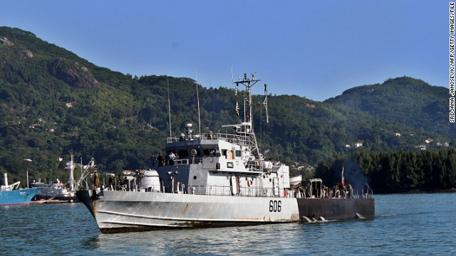 It is armed with 30-millimeter guns and 25 sailors, but the country has only four such vessels.