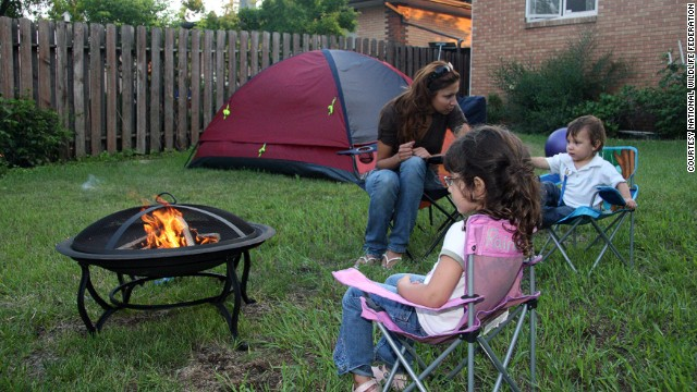 If you're a camping novice, consider signing up for the National Wildlife Federation's <a href='http://www.nwf.org/great-american-backyard-campout.aspx' target='_blank'>Great American Backyard Campout </a>and learning how to do it.