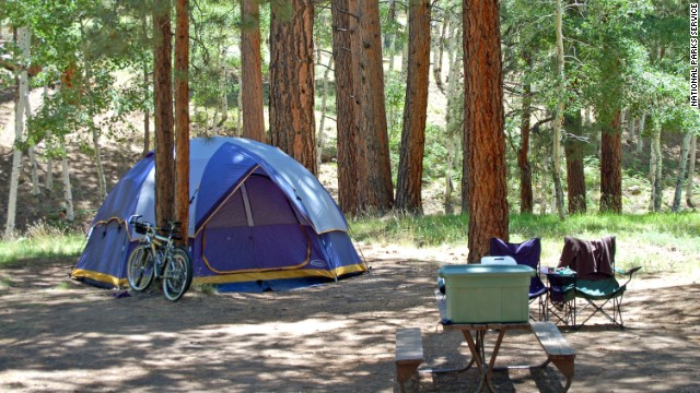 When traditionalists plan a camping trip, a tent is a key ingredient.