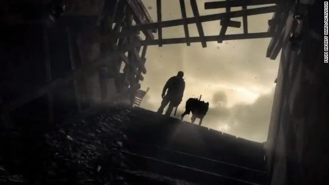 The image is from an online trailer for the upcoming