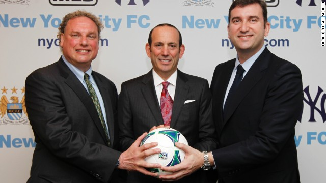 Man City and Yankees partner in MLS expansion side New York City FC