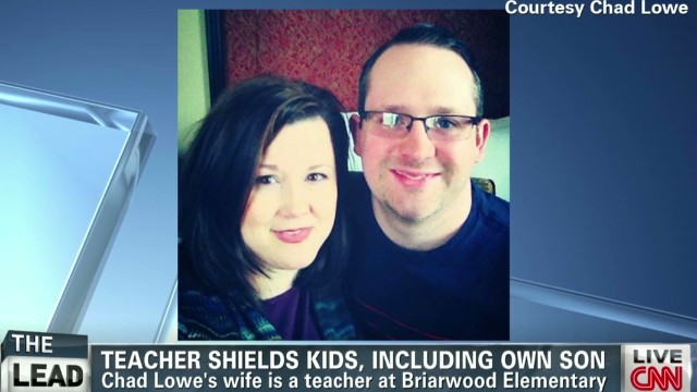 Teacher shielded students and son from tornado's fury