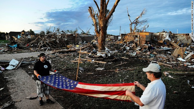 Heartbreak, hope and healing in the aftermath of Oklahoma tornado