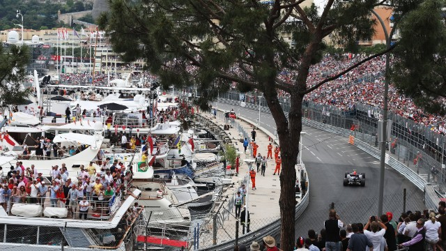 The tiny city will welcome 200,000 fans over the grand prix weekend with many of them watching from yachts in the harbor.