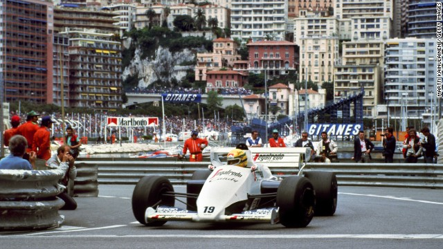 "The late Ayrton Senna won the Monaco race a record six times. Brazil's triple world champion said he entered a ""trance-like"" state while driving through the narrow streets."