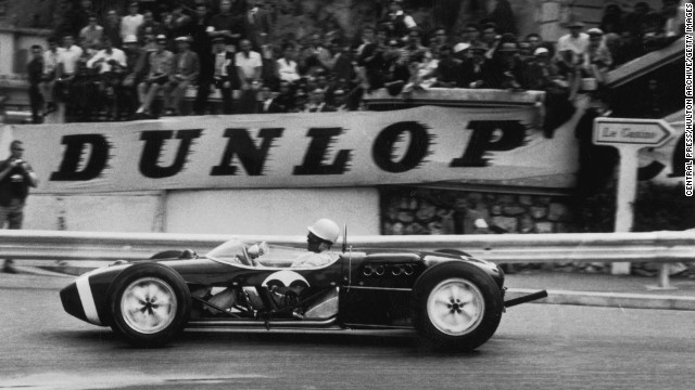 Monaco's street circuit is relatively unchanged since Formula One cars began racing there in 1950. Stirling Moss says his 1961 victory, shown here, was the best race of his career.