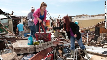 Helping with disaster in the heartland