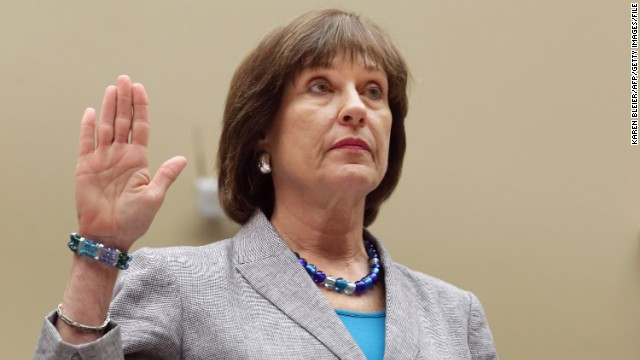 Lois Lerner is sworn in before testifying to the House Oversight and Government Reform Committee on Wednesday, May 22, in Washington. As the Internal Revenue Service director of exempt organizations, Lerner headed the division involved in targeting conservative groups. She invoked her constitutional right against self-incrimination and refused to answer questions from the congressional committee.