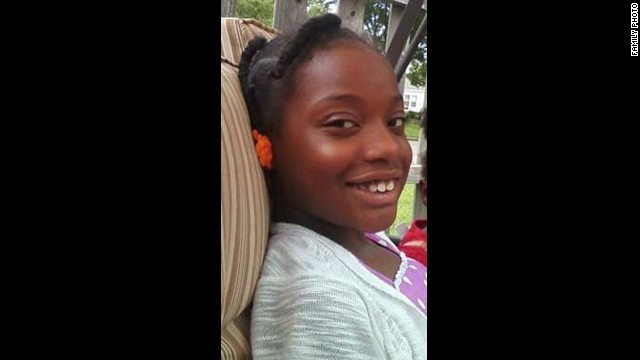 Jenae Hornsby, 9, was a third-grader at Plaza Towers.