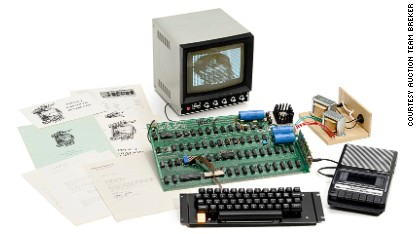Spectacular tech 'firsts' up for auction