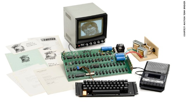 Rare technological firsts go under the hammer