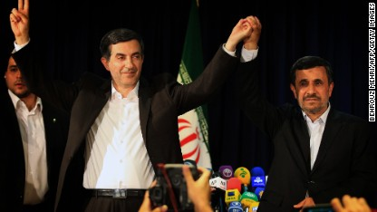 Ahmadinejad aide banned from election