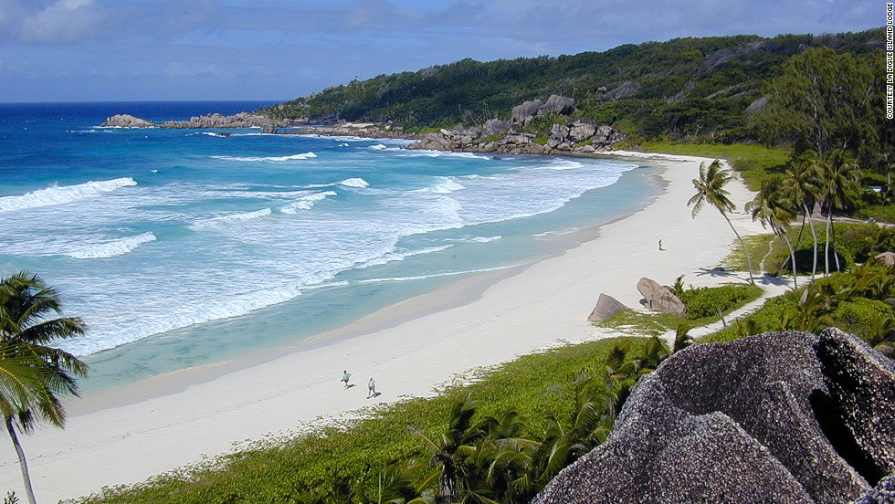1. Grande Anse Beach, Isla de La Digue, Seychelles