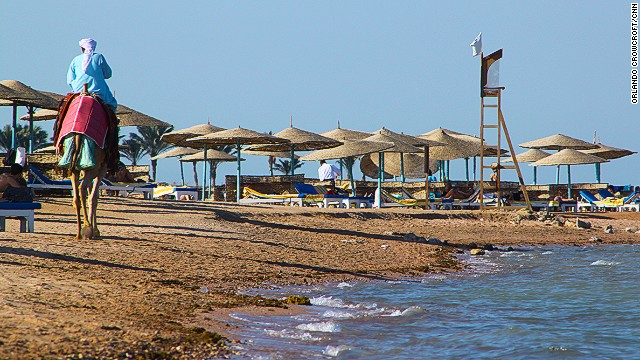 Some worry that the Muslim Brotherhood government will impose strict morality provisions on Egypt's beach resorts, such as Algouna resort (pictured) on the Red Sea.