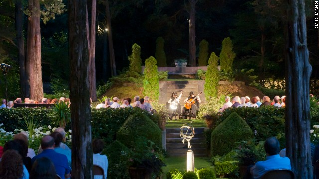 The Caramoor estate in Westchester County, New York, was built as a weekend getaway in the 1920s. What began as intimate private concerts have become Caramoor's Summer Music Festival.
