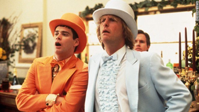"<strong>""Dumb & Dumber"" (1994)</strong>: It's just one of Jim Carrey's string of 1994 comedies. The actor crafted a standout favorite alongside Jeff Daniels in this movie about two idiotic but lovable friends."