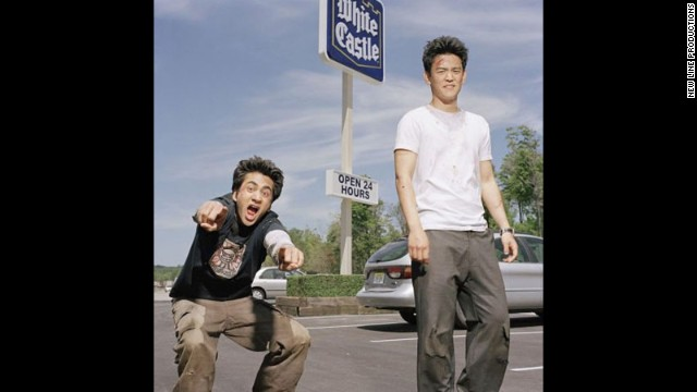 """Harold and Kumar Go to White Castle"" (2004): Although this comedy literally follows two pot-smoking pals (played by John Cho and Kal Penn) as they satisfy their desire for White Castle, it's also helped turn the actors into household names."