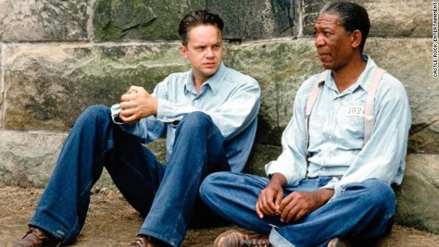 """Shawshank Redemption"" (1994): This story of two men who form a lasting friendship while in prison is a drama rather than the usual buddy movie comedy, but the work of Morgan Freeman and Tim Robbins is a duo performance at its finest."