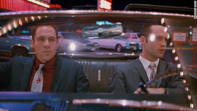 "<strong>""Swingers"" (1996)</strong>: Before ""The Hangover"" movies became forever tied to Las Vegas, Sin City was the territory of Jon Favreau's Mike and Vince Vaughn's Trent. Trying to help his friend recover from a breakup, playboy Trent leads lady-seeking escapades from Vegas to L.A."