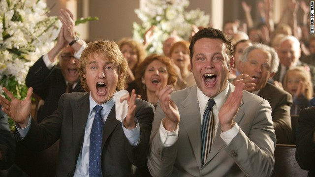 """Wedding Crashers"" (2005): Vince Vaughn was once again portraying the brash playboy to great effect in ""Wedding Crashers,"" which also starred Owen Wilson as Vaughn's more sensitive party-crashing cohort."