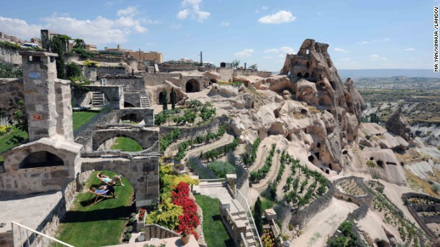 Turkey's Argos in Cappadocia, located in Old Uçhisar Village, features unique lodging in caves and dwellings used for thousands of years.