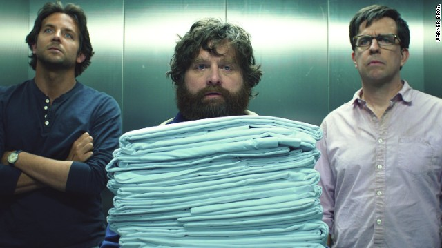 Bradley Cooper, Zach Galifianakis and Ed Helms star in