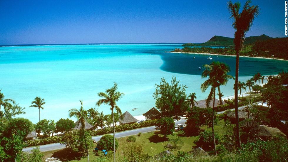8. Playa de Matira, Bora Bora, Tahití