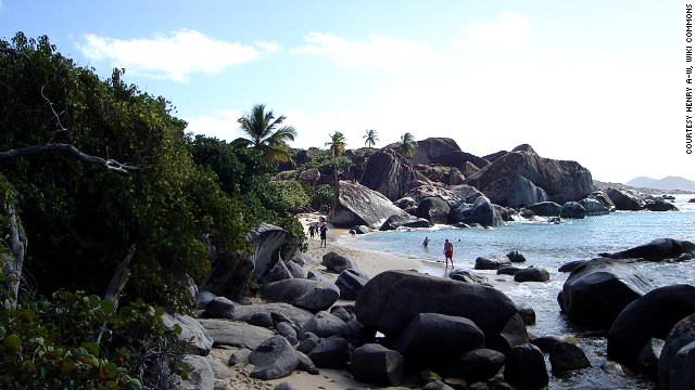 15. The Baths, Virgin Gorda, British Virgin Islands