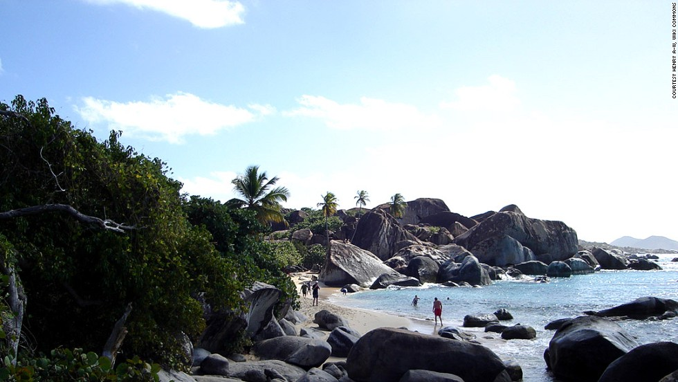 15. The Baths, Virgen Gorda, Islas Vírgenes Británicas