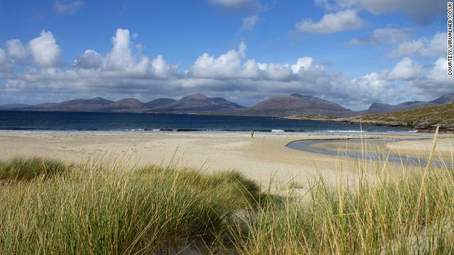 16. Luskentyre Beach, Escocia