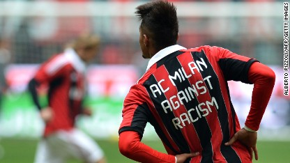 Football: UEFA steps up racism fight