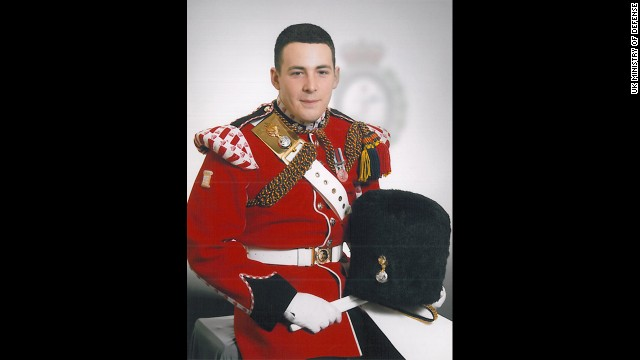 The victim killed in a cleaver attack Wednesday was identified as Drummer Lee Rigby of 2nd Battalion The Royal Regiment of Fusiliers. The brutal killing of Rigby shocked the United Kingdom, with Prime Minister David Cameron saying the act appears to have been a terrorist attack.