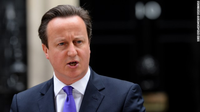 British Prime Minister David Cameron, in restricting access to porn, says,