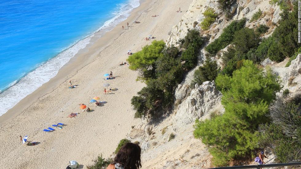24. Egremni Beach, Grecia