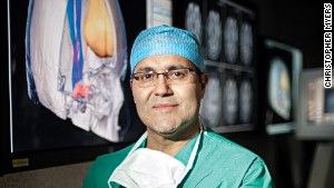 Dr. Alfredo Quinones-Hinojosa is working on a treatment approach for brain tumors involving stem cells derived from fat cells.
