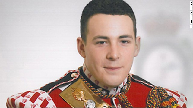 British soldier Lee Rigby was killed last month in broad daylight on a London street.