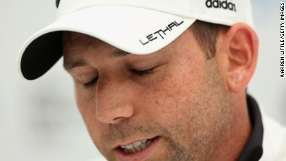 Golf: Garcia's biggest sponsor hits out