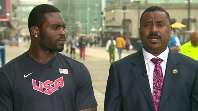 Michael Vick on recovering from natural disaster: