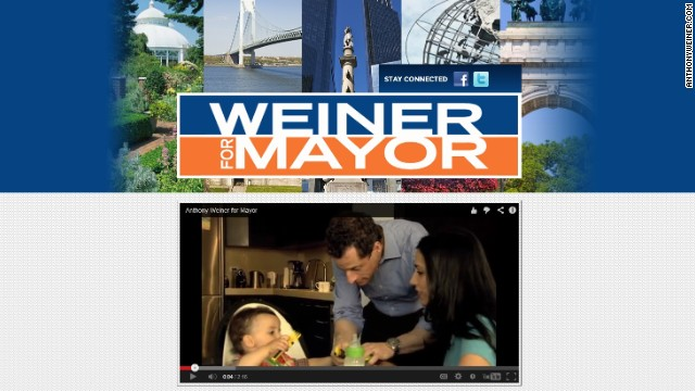 Weiner website snafu: Pittsburgh instead of NY