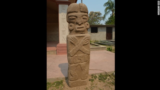 Statue found in Mexico