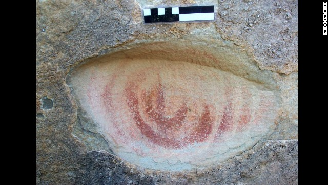 Nearly 5,000 cave drawings were discovered in northeastern Mexico in 2006. This month, Mexico's National Institute of Anthropology and History archeologists released their findings into the paintings.
