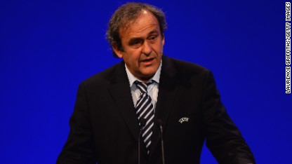 Football: Platini issues racism warning