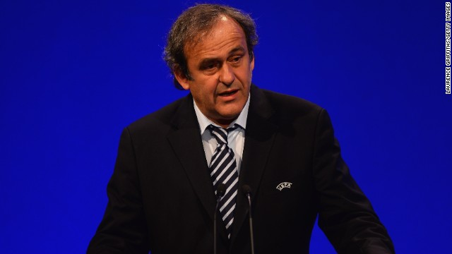 Former France international Michel Platini has been head of UEFA since 2007.