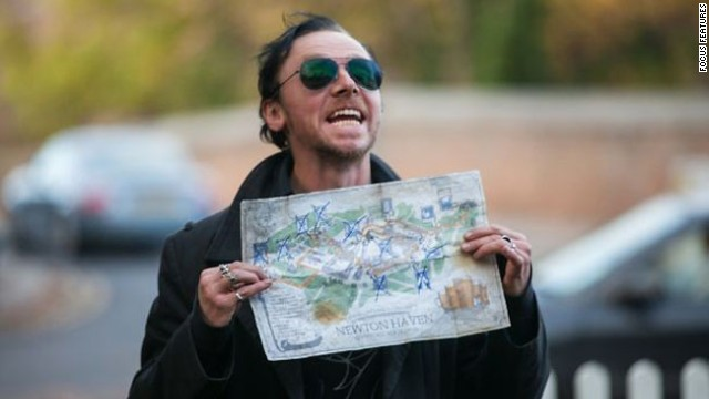 "Simon Pegg sets off on a pub crawl amidst an alien invasion in ""The World's End,"" which opens today along with ""The Mortal Instruments: City of Bones"" and ""You're Next."""