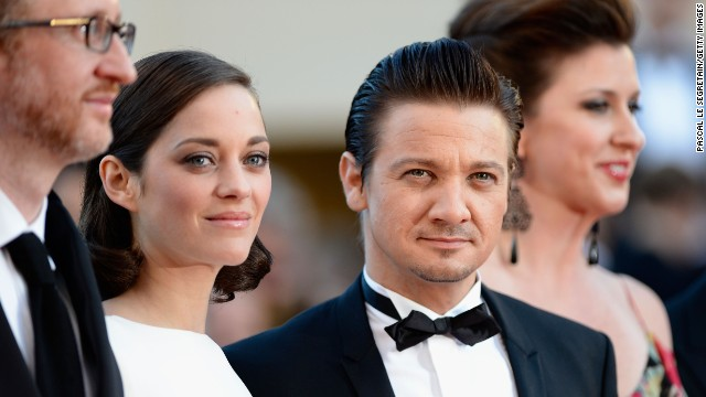 "Director James Gray and stars Marion Cotillard and Jeremy Renner attend the Cannes premiere of ""The Immigrant"" on May 24."