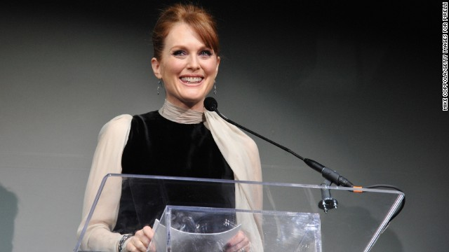 "During a 2002 interview on ""Inside the Actor's Studio,"" actress Julianne Moore was asked what she would like to hear God say to her at the gates of heaven. She replied, ""Well, I guess you were wrong. I do exist."""