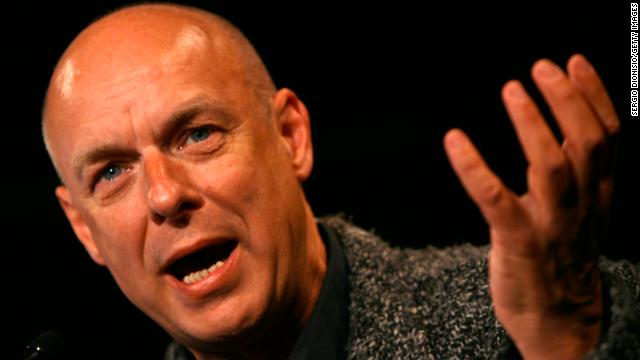 "Composer and musician Brian Eno refers to himself as an ""evangelical atheist."" In 2007 he told the BBC: ""What religion says to you, essentially, is that you're not in control. Now that's a very liberating idea. It's quite a frightening idea as well, in some ways."""