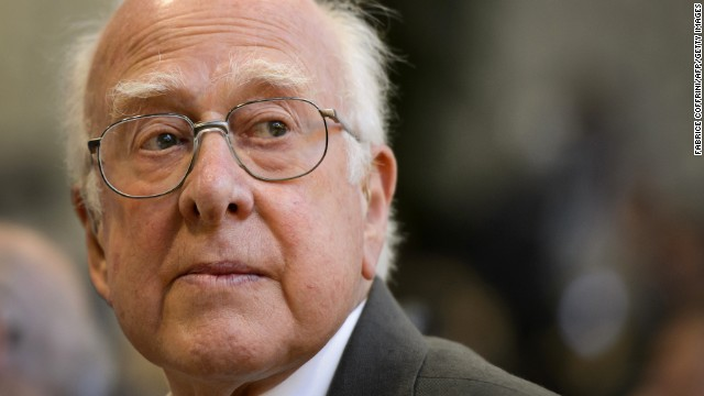 "British physicist Peter Higgs is among those credited with the theory behind the Higgs boson, a subatomic particle long thought to be a fundamental building block of the universe. In an interview with the BBC earlier this year, he expressed his discomfort with people calling it the ""God particle."" He said: ""First of all, I'm an atheist. The second thing is I know that name (started as) a kind of joke and not a very good one. ... It's so misleading."""