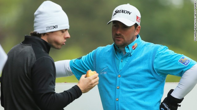 Rory McIlroy and his Northern Ireland compatriot Graeme McDowell both missed the cut at the European Tour's flagship event.